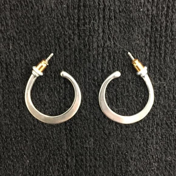 James Avery Jewelry Rare Retired Half Hoop Earrings Poshmark